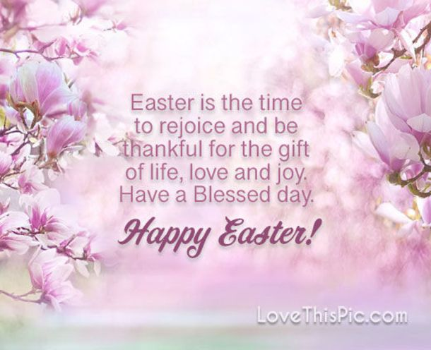 10 Perfect Happy Easter Quotes With Flowers