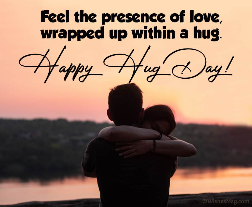 100+ Happy Hug Day Wishes And Quotes | Wishesmsg