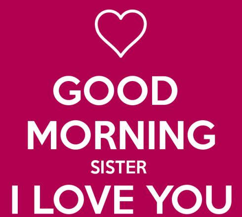 Good Morning Sister Images Wallpapers, Gif Pictures