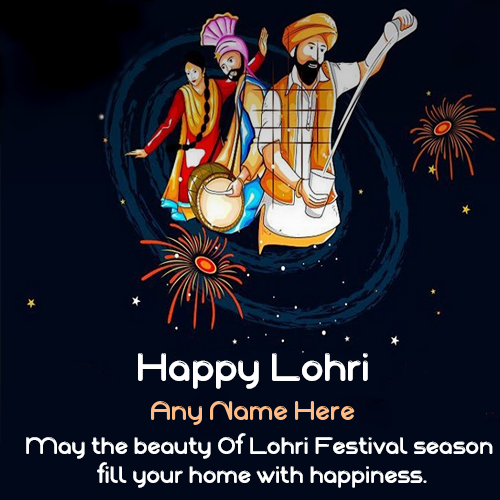 Happy Lohri Images With Name   Share Best Wishes