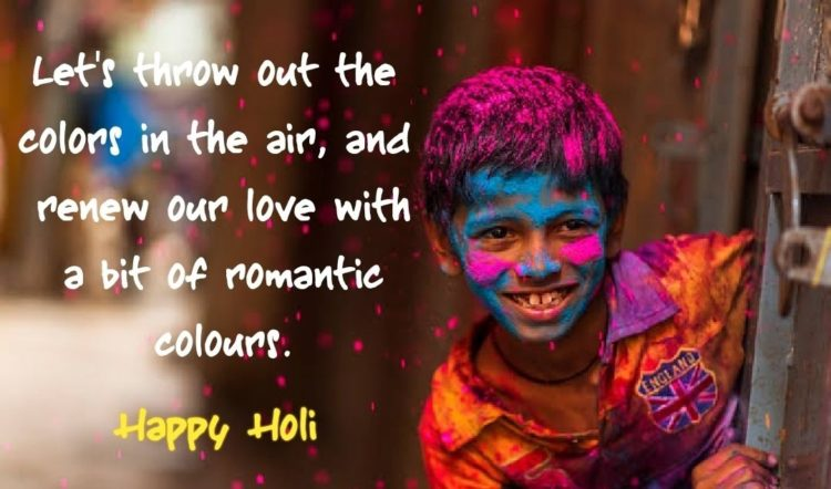 Happy Holi - Quotes, Wishes, Messages, Sayings and Status | Whatsapp and Facebook Messages with Images | Unique Holi Quotes