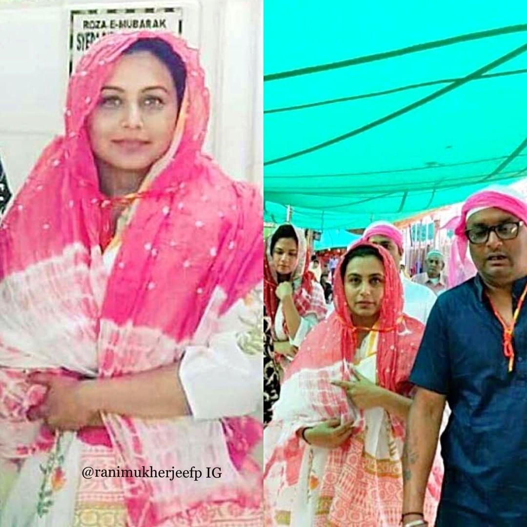 (Pictured Is Rani At The Ajmer Sharif Dargah To Seek Blessin