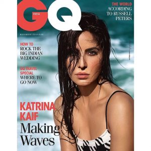 GQ India November 2019 with   Issue by  Creative Management