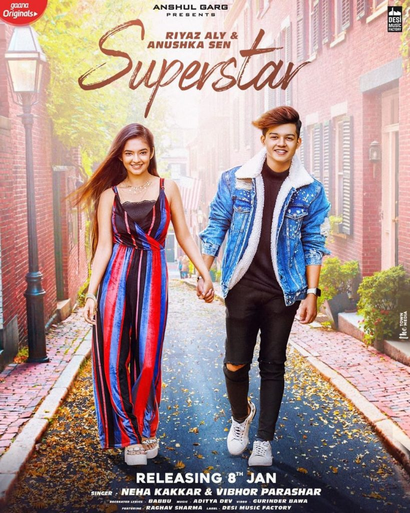 SUPERSTARWith @anushkasen0408 releasing on 8th Jan!Sung by