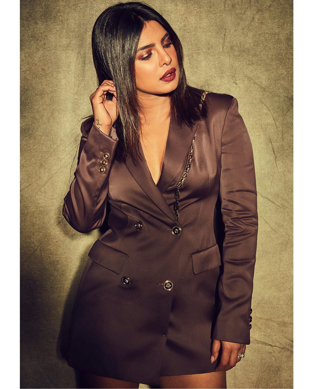 Priyanka Chopra  Suited up…  promotions. In theatres Oct 11. Wallpaper