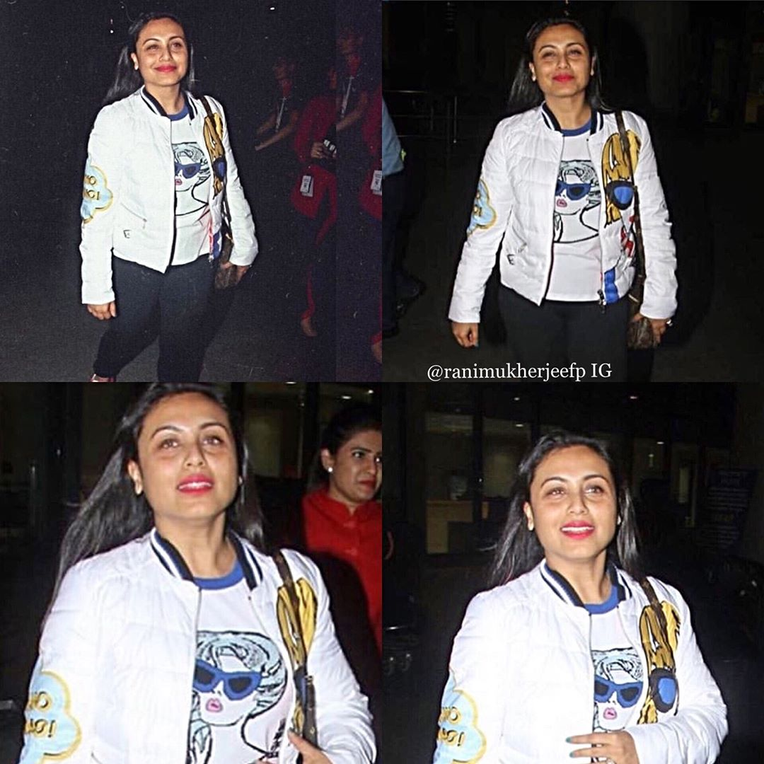 Rani Mukerji Rani sported at the airport and my my she's gorgeous ! She l Wallpaper