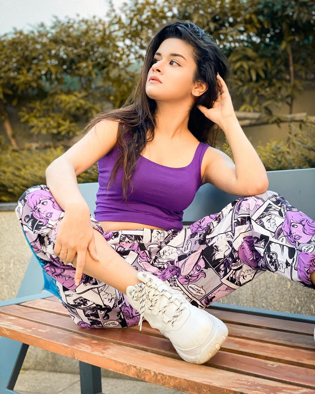 """Avneet Kaur Wallpapers, Photos, Images &Amp; Pictures New Dance Video Coming Soon! Guess The Song?? Example """"Oh La La"""" Wearing- -"""
