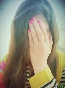 Image for Cute Girl Hidden Face Profile Picture Download for Fb