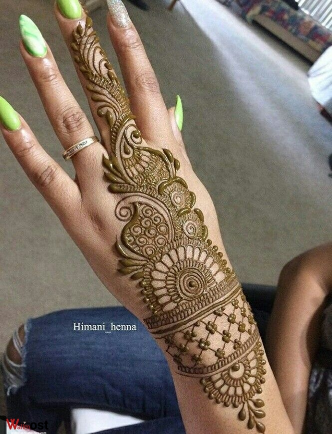 Latest Jewellery Mehndi Design 2021