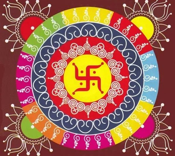 75+ Simple And Easy Rangoli Designs Collection --2020