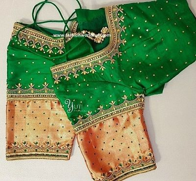 85 Latest Blouse Designs For Sarees: Images And Catalogue (2020)