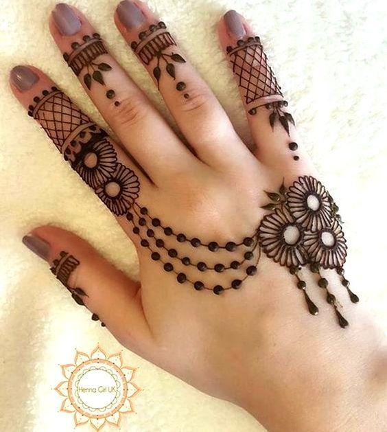 Bridal Mehndi Designs Hands Arabic