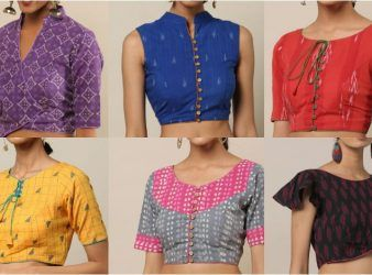 Cotton Saree Blouse Designs For A Stylish Look!