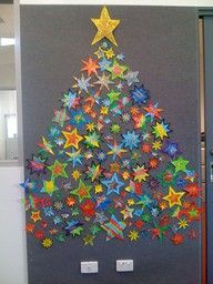 Draw Outline Of A Christmas Tree And Let Kids Fill It In With Stickers.