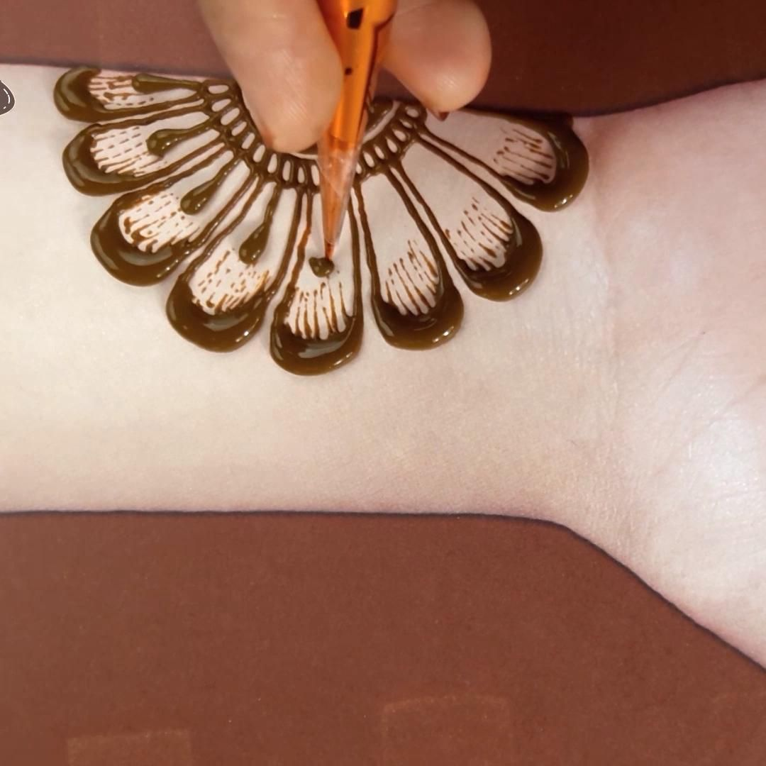 Easy Simple Mehndi Design Front Hands | New Simple Arabic Mehndi Designs For Hands