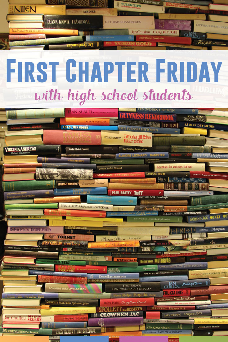First Chapter Fridays With Secondary Students | Language Arts Classroom