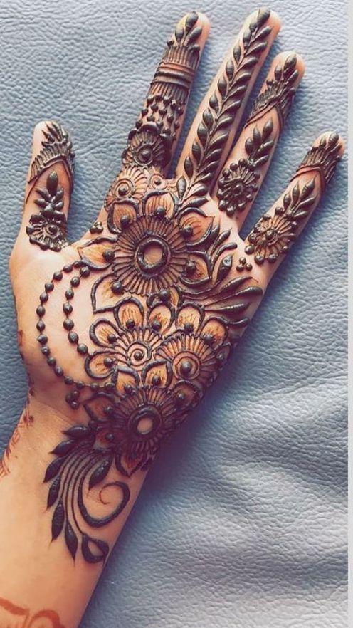 New Eid Mehndi Designs 2021 Beautiful, Simple And Easy