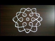 Simple And Small Rangoli Designs   Small Kolam Designs   Daily Rangoli   Small Muggulu   5 To 3 Dots