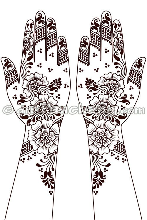 This Page Provides Mehandi Designs With Title Arabic Mehandi 4 For Indian Festivals. Arabic Mehndi Designs Are Also Popu...