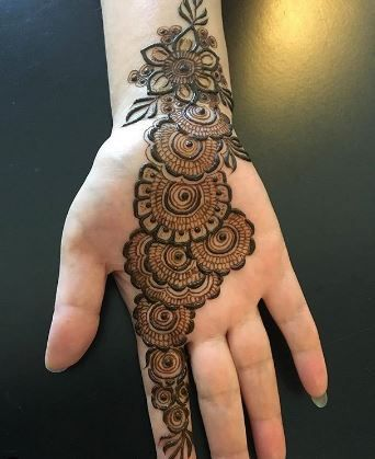 latest mehndi designs 2021 for front hand
