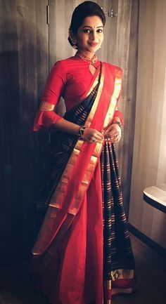 13 Incredible Collar Blouse Designs You Can Wear With Any Saree • Keep Me Stylish