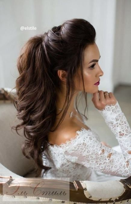 Insta Worthy Indian Bridal Hairstyle 2021