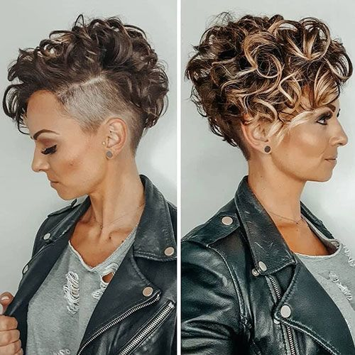 63 Cute Hairstyles For Short Curly Hair Women 2020 Guide 2021