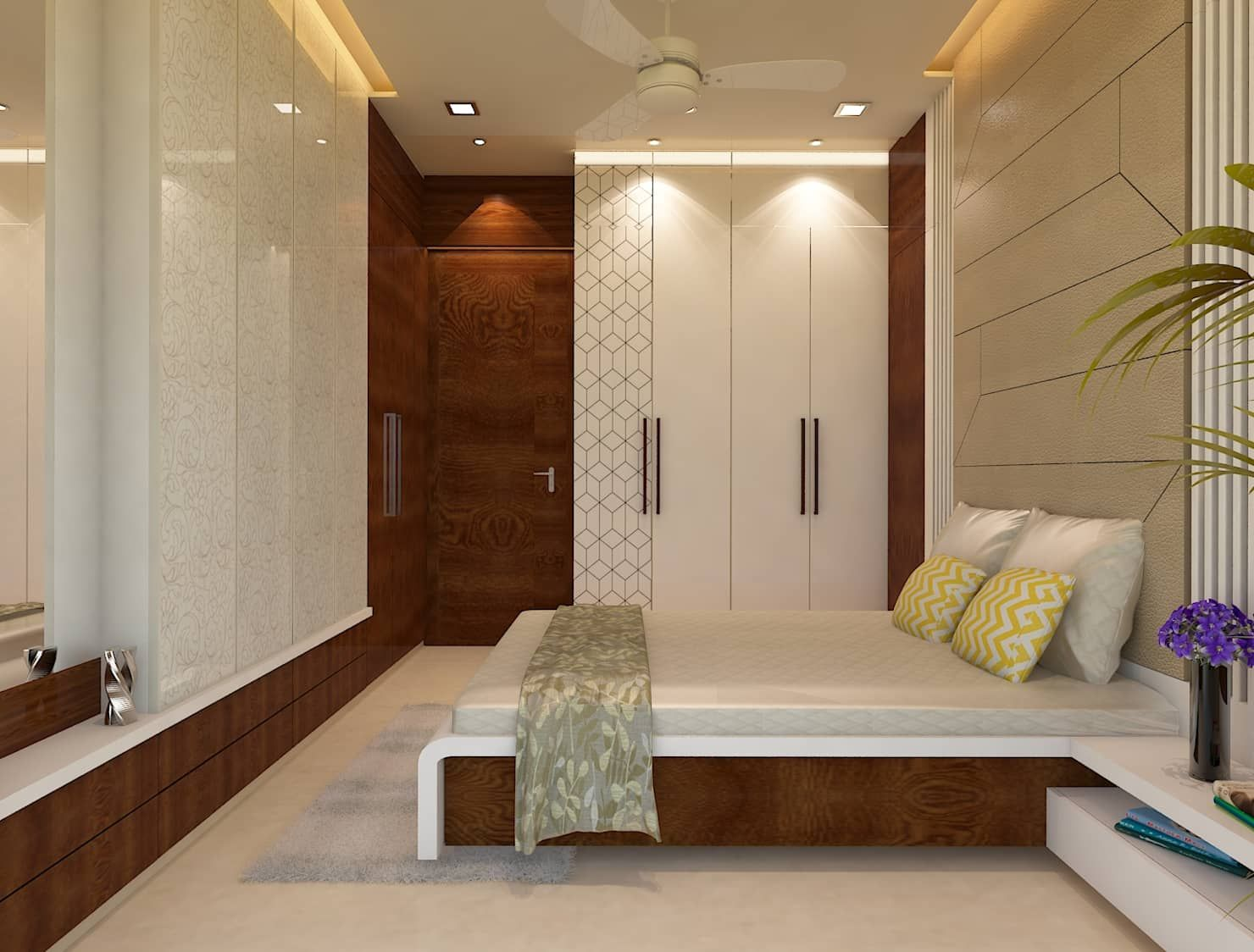 Fascinating False Ceiling Designs From Hall And Bedroom ...