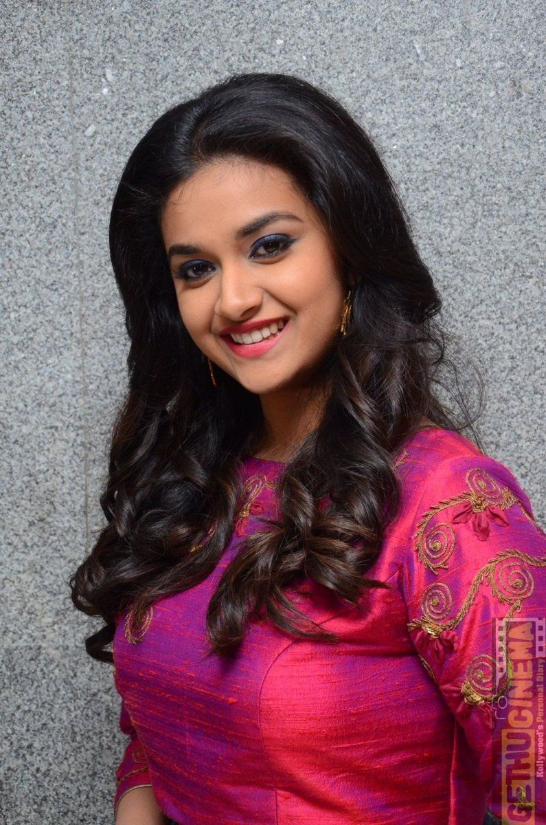 Actress Keerthy Suresh Remo Telugu Success Meet Gallery - Gethu Cinema