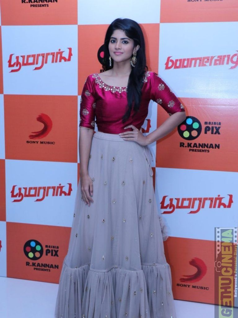 Boomerang Audio Launch HD Gallery | Atharvaa, Indhuja, Megha Akash - Gethu Cinema
