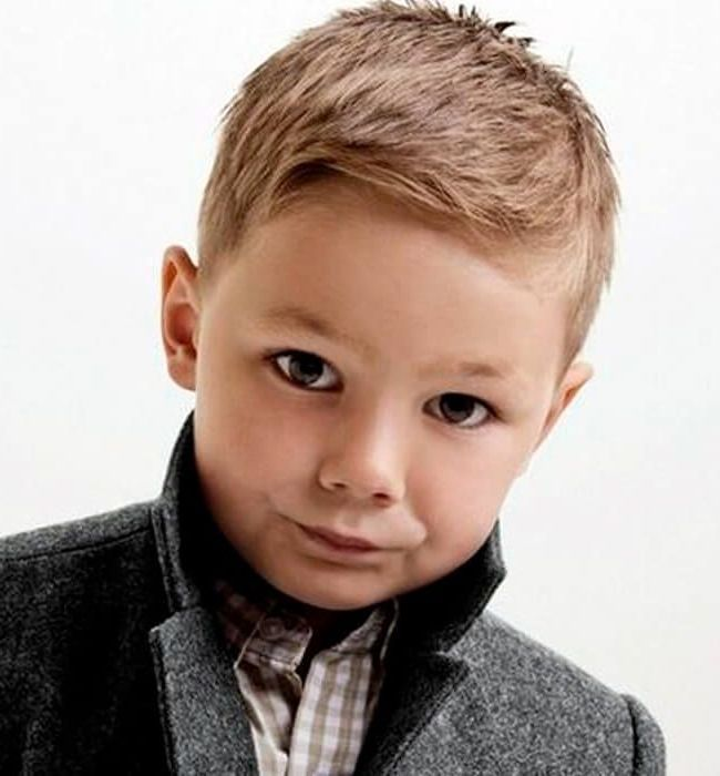 35 Cute Toddler Boy Haircuts: Best Cuts &Amp; Styles For Little Boys In 2020