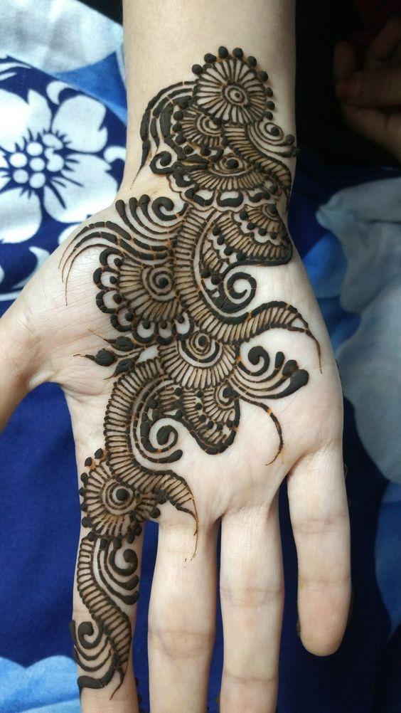 35 Latest Arabic Mehndi Designs For Hands   Women Beauty