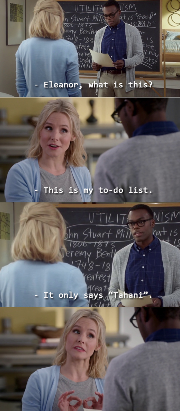 69 Forking Hilarious Memes About &Quot;The Good Place&Quot;