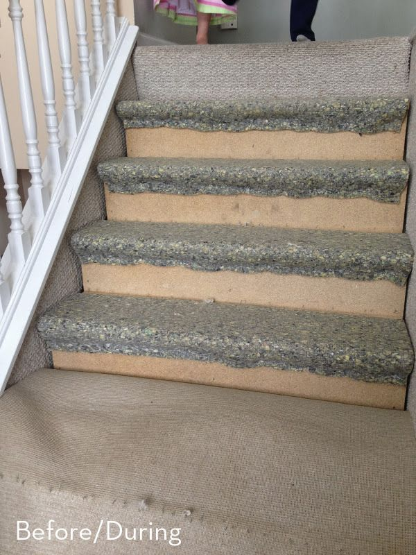 Before And After: A $60 Carpet-To-Hardwood Stair Makeover