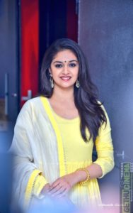 Keerthy Suresh - Nadigaiyar thilagam Press Meet Gallery - Gethu Cinema
