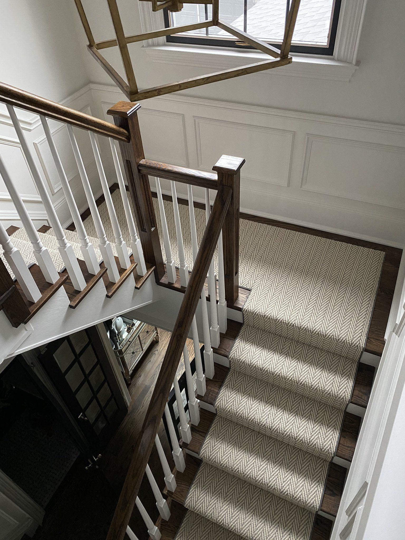 Spiral Staircase With Runner
