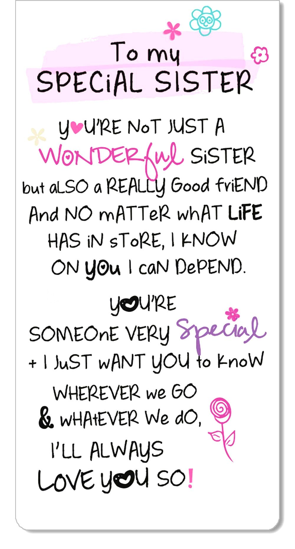 Top Inspiring Quotes About Sisters &Amp; I Love You Sister Quotes