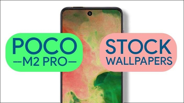 Download Poco M2 Pro Stock Wallpapers [Full Hd+]