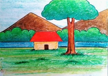 Drawing For Kids Easy Scenery 52 Ideas