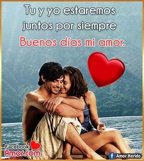Tarjetas De Buenos Días Amor