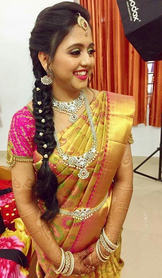 28 Top Wedding Front Hairstyle South Indian