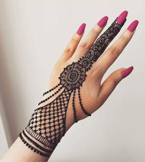 Easy Henna Designs For Beginners On Hands