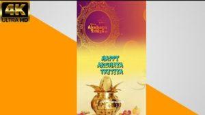 Akshaya Tritiya 2021 Video Status Download | Happy Akshaya Tritiya Whatsapp Video Status Wishes