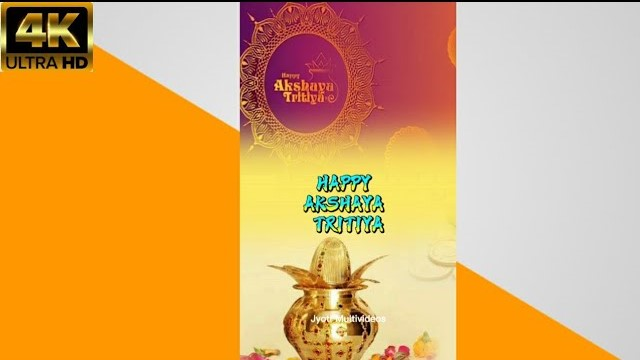 Akshaya Tritiya 2021 Video Status Download | Happy Akshaya Tritiya Whatsapp Video Status Wishes
