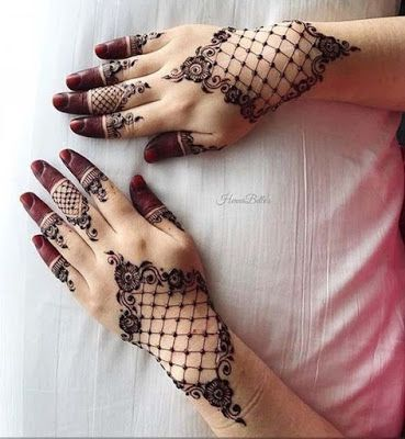 Latest Mehndi Designs | New Henna Patterns