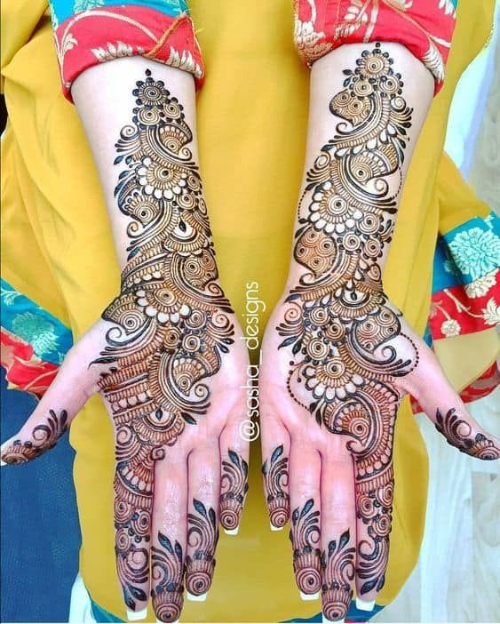 Arabic Mehendi Designs 2021 | Latest Arabi Mehndi Design
