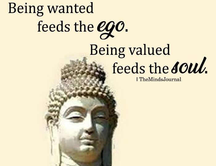 Being Wanted Feeds The Ego