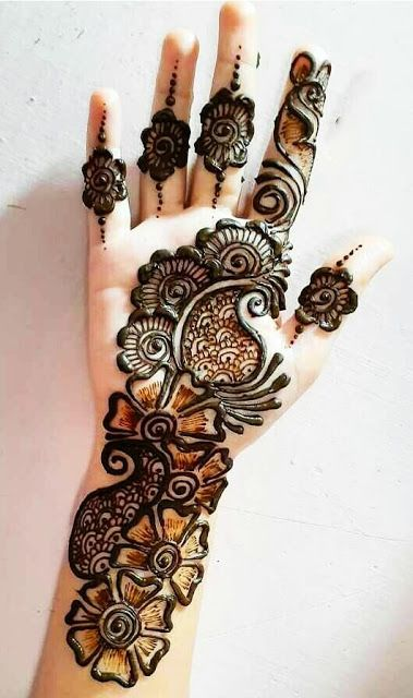 Best Mehndi Designs For Raksha Bandhan