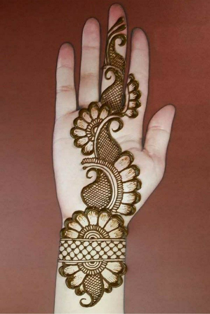 Simple Mehndi Designs [ Best 300 ] Hands Mehndi Photo | Mehndi Easy |