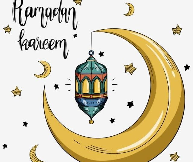 Creative Ramadan Festival Moon Element, Ramadan, Festival, Lantern Png Transparent Clipart Image And Psd File For Free Download